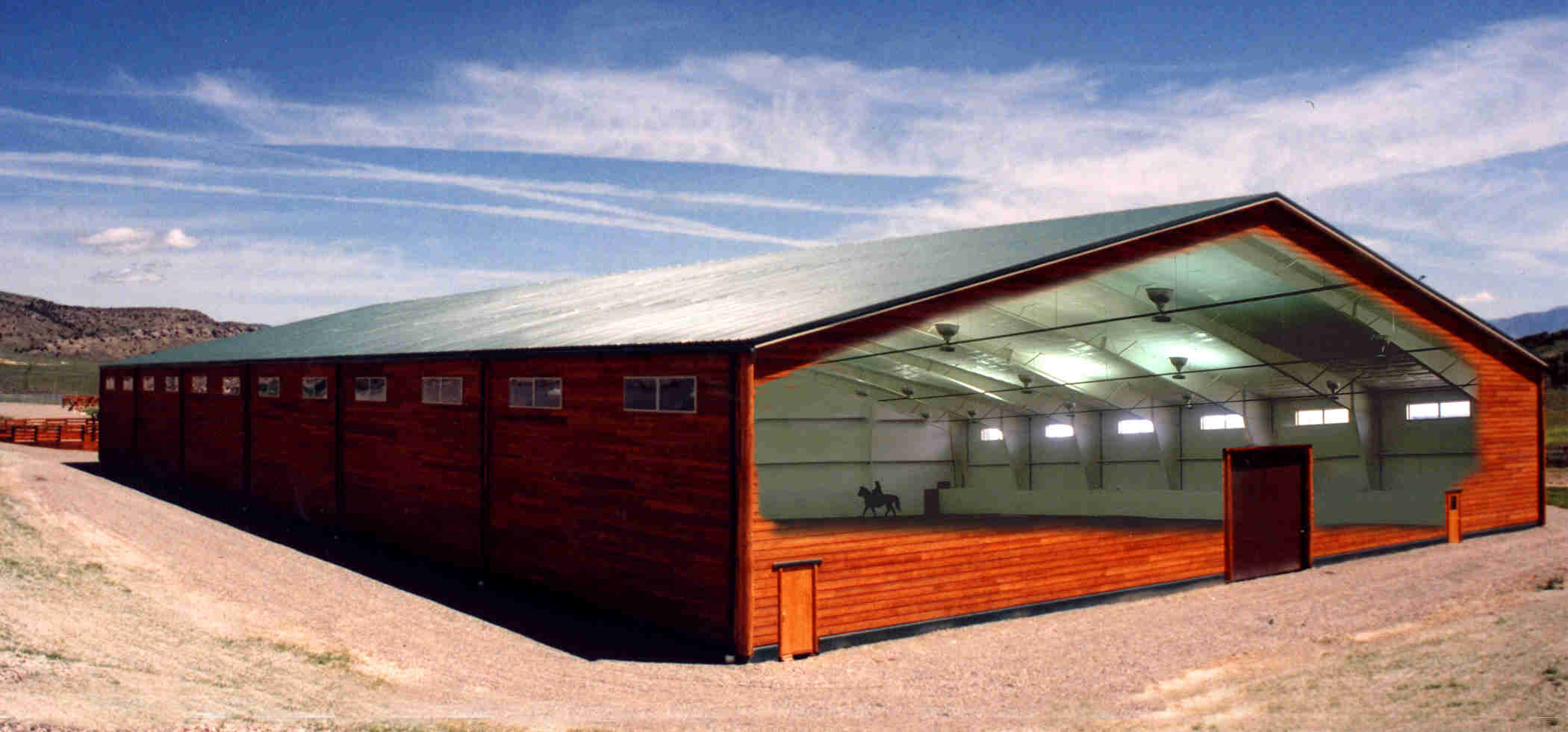 Steel buildings a growing trend in the construction for Barn style metal buildings